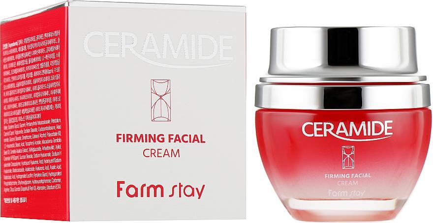 Укрепляющий крем для лица с керамидами - FarmStay Ceramide Firming Facial Cream