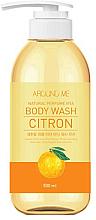 Духи, Парфюмерия, косметика Гель для душа - Welcos Around Me Natural Perfume Vita Body Wash Citron