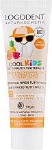Духи, Парфюмерия, косметика Гель зубной для детей Тутти-Фрутти - Logona Cool Kids Tutti Frutti Toothpaste