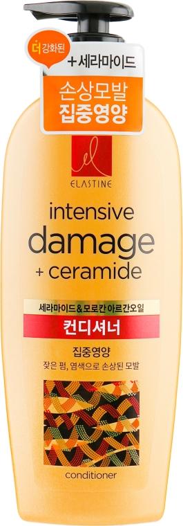 Кондиционер для окрашенных и поврежденных волос - LG Household & Health Elastine Intensive Damage Care — фото N1