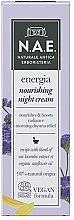 Духи, Парфюмерия, косметика Ночной крем для лица - N.A.E. Energia Nourishing Night Cream