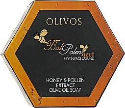 """Духи, Парфюмерия, косметика Натуральное оливковое мыло """"Мед и пыльца"""" - Olivos ZeyTeen Honey & Pollen Soap"""