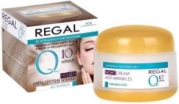 Духи, Парфюмерия, косметика Ночной крем против морщин для нормальной и комбинированной кожи - Regal Q10+ Refresh Night Cream Anti-Wrinkles