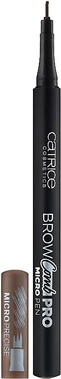 Маркер для бровей - Catrice Brow Comb Pro Micro Pen