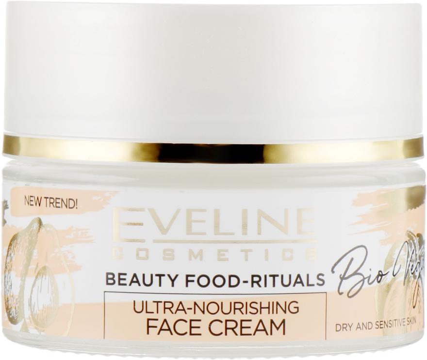 Ультрапитательный крем для лица - Eveline Cosmetics Beauty Foods Bio Vegan Cream — фото N2