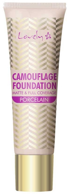 Тональная основа для лица - Lovely Camouflage Foundation