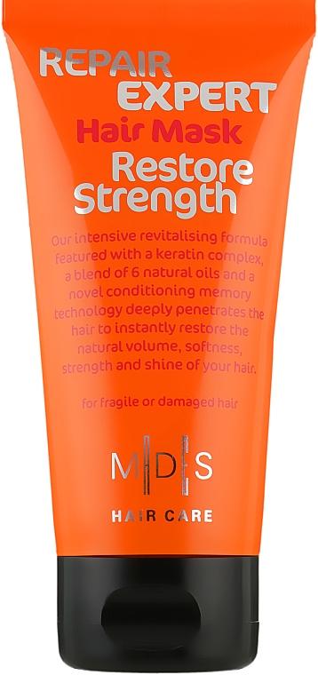 """Маска для волос """"Восстановление прочности"""" - Mades Cosmetics Repair Expert Hair Mask Restore Strength"""