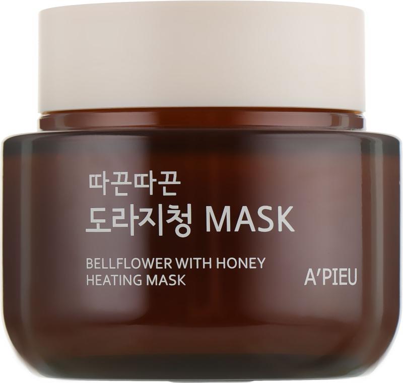 Маска согревающая с медом - A'pieu Bellflower Heating Mask