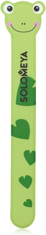 Пилка для натуральных и искусственных ногтей - Solomeya Frog