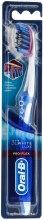 Духи, Парфюмерия, косметика Зубная щетка, средней жесткости, синяя - Oral-Be Pro-Flex 3D White Luxe