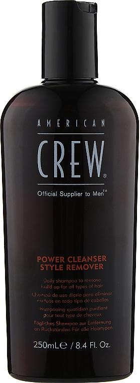 Ежедневный шампунь для глубокой очистки - American Crew Power Cleanser Style Remover