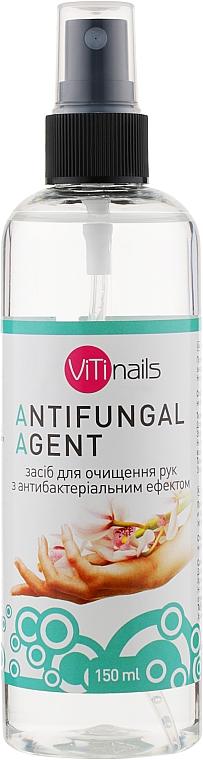Средство для очистки рук, с антибактериальным эффектом, с дозатором - Vitinails Antifungal Agent