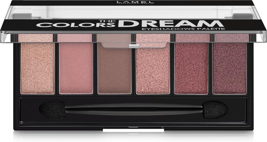 Набор теней для век - Lamel Professional Color The Dream Eyeshadows Palette