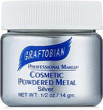 Духи, Парфюмерия, косметика Пудра с металлическим пигментом, серебристая - Graftobian Powdered Metal Silver