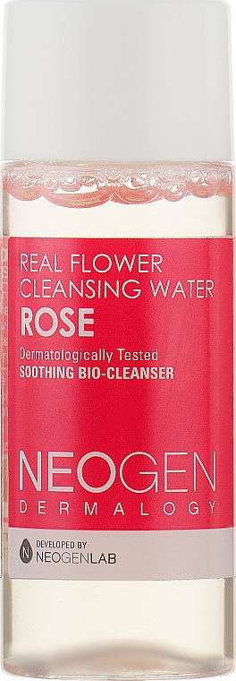 Очищающая вода с лепестками розы - Neogen Dermalogy Real Flower Cleansing Water Rose