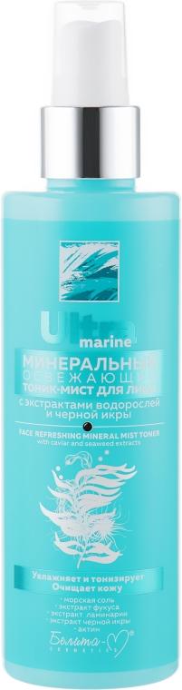 Минеральный освежающий тоник-мист для лица - Белита-М Ultra Marine