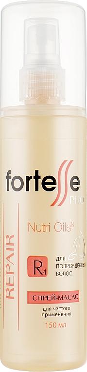 Спрей-масло для поврежденных волос - Acme Professional Fortesse Hair Repair Nutri Oil