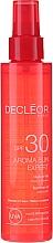 Духи, Парфюмерия, косметика Масло для волос и тела - Decleor Aroma Sun Expert Summer Oil Spf30