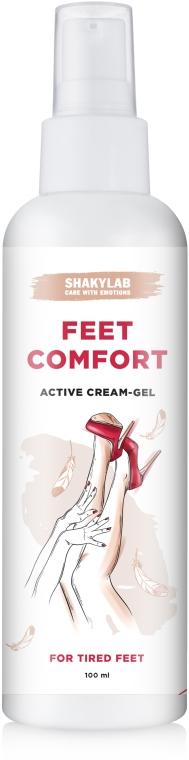 """Крем-гель для ног """"Feet Comfort"""" - SHAKYLAB Active Feet Cream-Gel"""