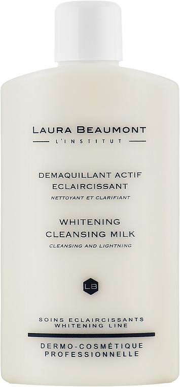 Осветляющее очищающее молочко - Laura Beaumont Whitening Cleansing Milk