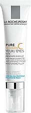 Парфумерія, косметика Антивіковий зволожуючий крем-філлер комплексної дії для чутливої шкіри навколо очей - La Roche-Posay Pure Vitamin C Eyes