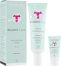 Духи, Парфюмерия, косметика Дневной нормализующий крем для лица - Floslek Balance T-Zone Normalizing Cream SPF10
