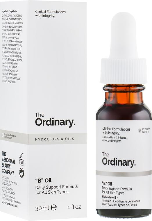 Балансирующая смесь масел и микроводорослей для ухода за кожей лица - The Ordinary B Oil