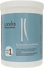 "Духи, Парфюмерия, косметика Осветляющая пудра ""Креативная"" - Londa Professional Blondes Unlimited Creative Lightening Powder"