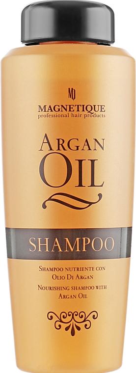 Шампунь для волос с аргановым маслом - Magnetique Argan Oil Nourishing Shampoo