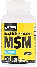 Духи, Парфюмерия, косметика Метилсульфонилметан в таблетках - Jarrow Formulas MSM (Methyl-Sulfonyl-Methane) 1000 mg
