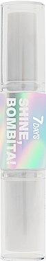 Хайлайтер для лица - 7 Days Shine, Bombita! Double Highlighter