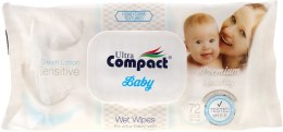 Духи, Парфюмерия, косметика Детские влажные салфетки - Ultra Compact Sensetive