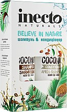 Духи, Парфюмерия, косметика Набор - Inecto Naturals Coconut (shm/500ml + cond/500ml)