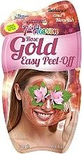 Духи, Парфюмерия, косметика Отшелушивающая маска-пленка - 7th Heaven Rose Gold Easy Peel-Off Face Mask