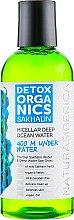 Мицеллярная вода для лица - Natura Siberica Detox Organics Sakhalin Micellar Deep Ocean Water — фото N1
