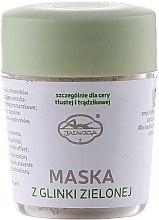 Духи, Парфюмерия, косметика Минеральная маска для лица из зеленой глины - Jadwiga Face Mask