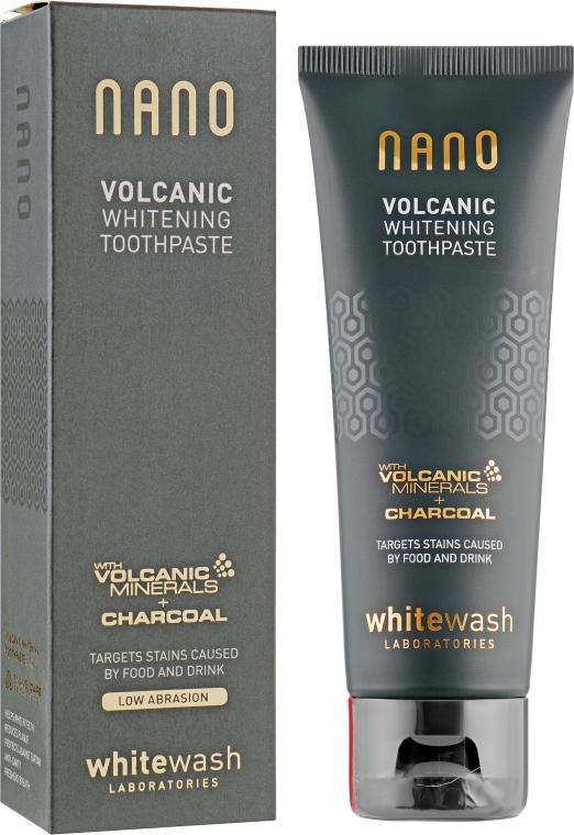 Интенсивно отбеливающая зубная паста - WhiteWash Laboratories Nano Volcanic Whitening Toothpaste