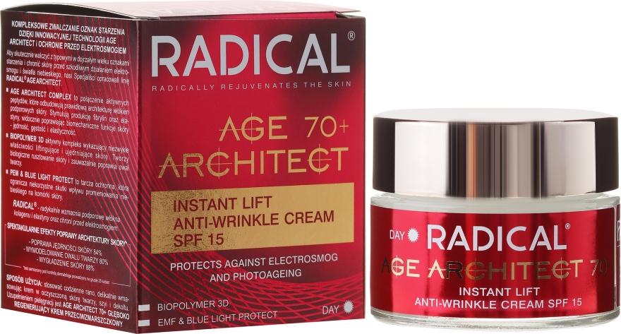 Уплотняющий крем для лица против морщин 70+ - Farmona Radical Age Architect Cream 70+ SPF15