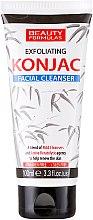 Духи, Парфюмерия, косметика Гель для лица, очищающий - Beauty Formulas Exfoliating Konjac Facial Cleanser