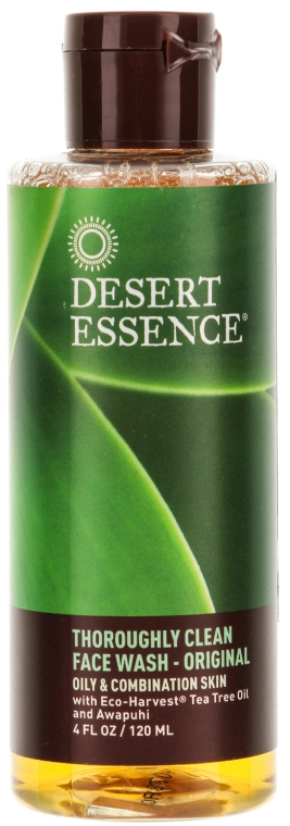 Средство для умывания жирной кожи - Desert Essence Thoroughly Clean Face Wash (Дорожный размер)