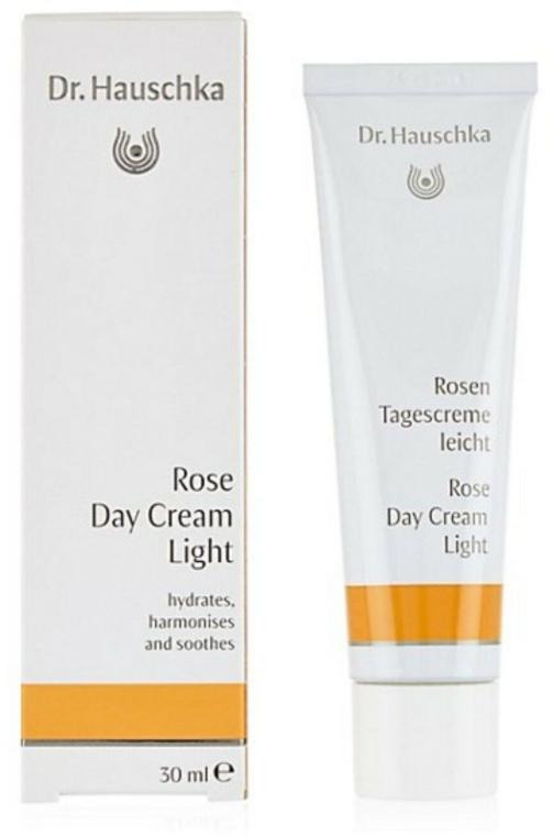 Дневной легкий крем с экстрактом цветов розы - Dr. Hauschka Rose Day Cream Light