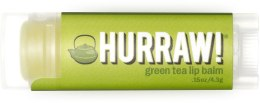 """Духи, Парфюмерия, косметика Бальзам для губ """"Зеленый чай"""" - Hurraw! Green Tea Lip Balm"""