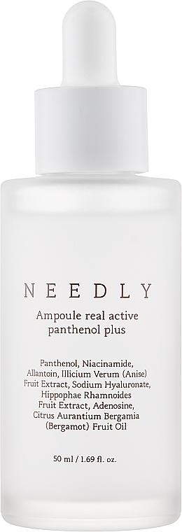 Восстанавливающая ампульная сыворотка с пантенолом - Needly Ampoule Real Active Panthenol Plus