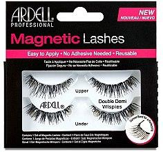 Парфумерія, косметика Накладні вії  - Ardell Magnetic Strip Lash Double Demi Wispies