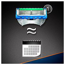 Бритва с 1 сменной кассетой - Gillette Fusion ProGlide Power Flexball — фото N9