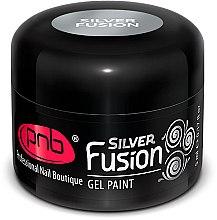 Духи, Парфюмерия, косметика Металлическая гель-краска для ногтей - PNB Gel Paint Silver Fusion UV/LED