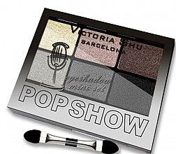 Духи, Парфюмерия, косметика Набор теней для век, 6 цветов - Victoria Shu Pop Show