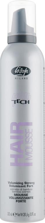 Lisap High Tech Mousse Volumizing Strong - Моделирующая пена сильной фиксации: купить по лучшей цене в Украине   Makeup.ua