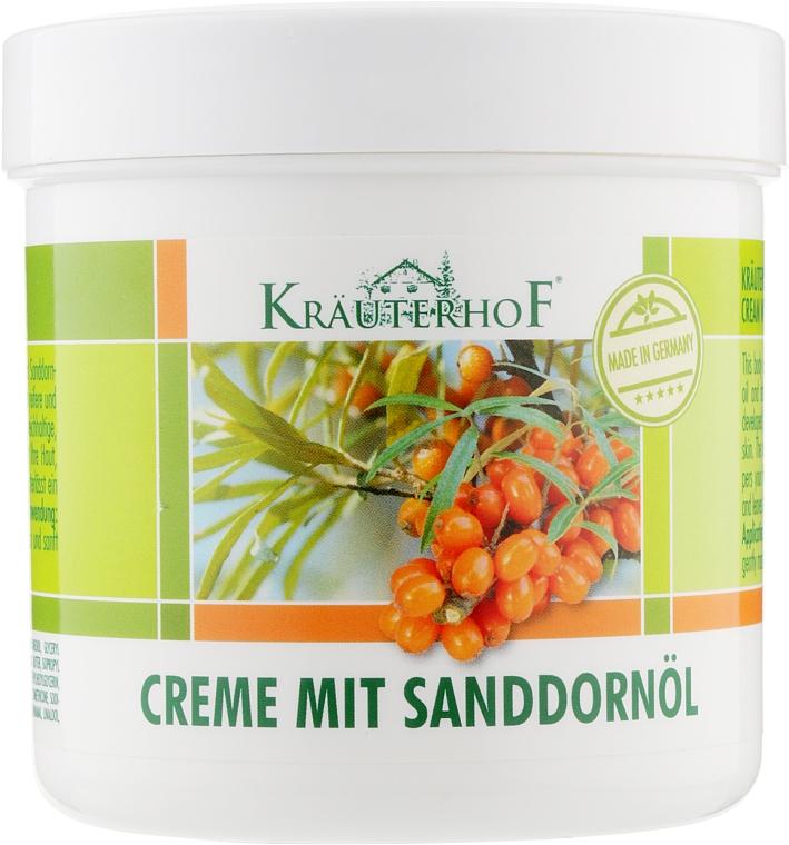 Крем для тела с маслом облепихи - Krauterhof Sanddornol Body Cream