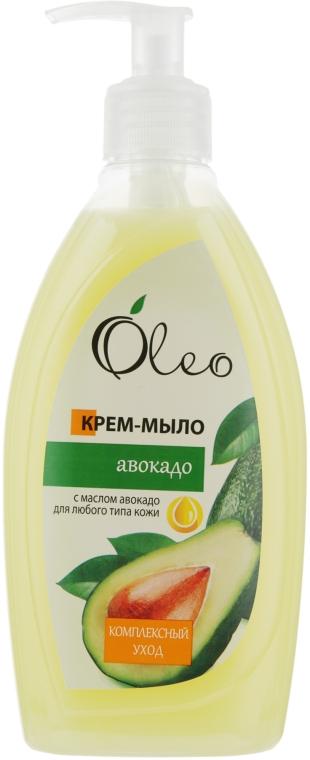 """Крем-мыло для любого типа кожи """"Авокадо"""" - Oleo"""